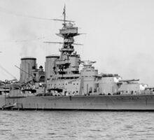 HMS Hood Battlecruiser Sticker