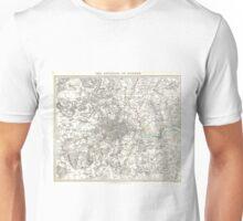 Vintage Map of London England (1832) Unisex T-Shirt
