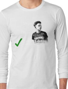 Mentally Dating Jacob Sartorius Long Sleeve T-Shirt