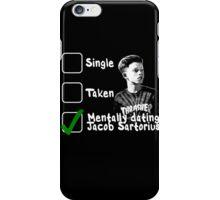 Mentally Dating Jacob Sartorius iPhone Case/Skin