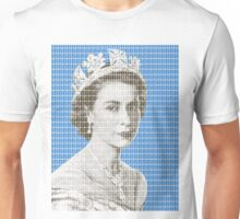 God Save The Queen - Blue Unisex T-Shirt
