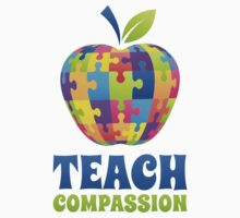 Teach Compassion One Piece - Short Sleeve