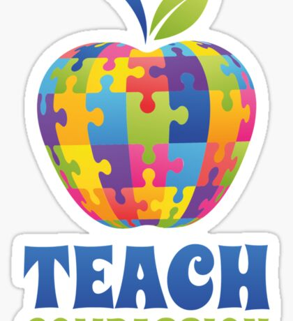 Teach Compassion Sticker