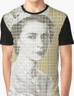 God Save The Queen - Gold Graphic T-Shirt