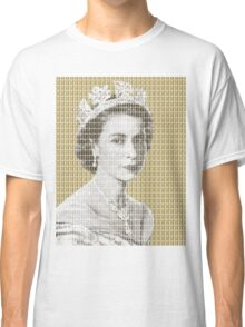 God Save The Queen - Gold Classic T-Shirt