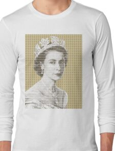 God Save The Queen - Gold Long Sleeve T-Shirt