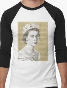 God Save The Queen - Gold Men's Baseball ¾ T-Shirt
