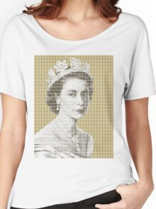 God Save The Queen - Gold Women's Relaxed Fit T-Shirt