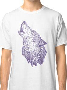 Triangulated Wolf Head Classic T-Shirt