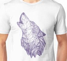 Triangulated Wolf Head Unisex T-Shirt