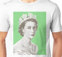 God Save The Queen - Green Unisex T-Shirt