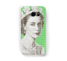 God Save The Queen - Green Samsung Galaxy Case/Skin