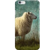 Vintage sheep iPhone Case/Skin