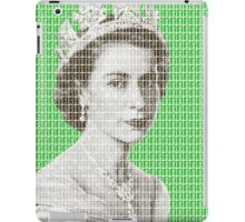 God Save The Queen - Green iPad Case/Skin