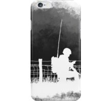 Soldiers greyscale iPhone Case/Skin