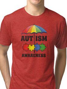Autism Awareness Tri-blend T-Shirt