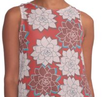 Tropical Flowers 2 Contrast Tank