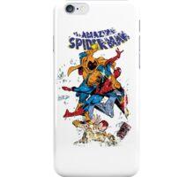 Spider-man vs Hobgoblin  iPhone Case/Skin