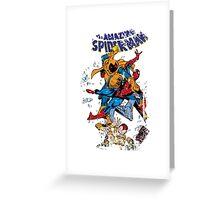 Spider-man vs Hobgoblin  Greeting Card