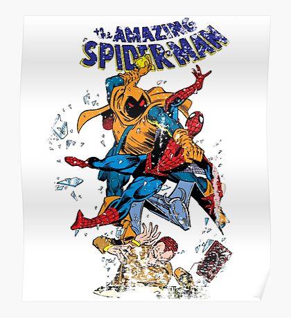 Spider-man vs Hobgoblin  Poster