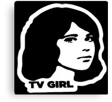 tv girl Canvas Print