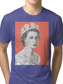 God Save The Queen - Orange Tri-blend T-Shirt