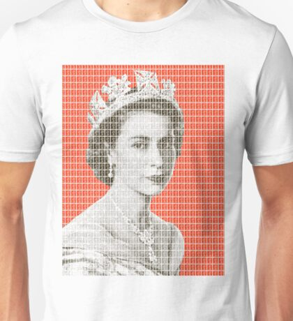 God Save The Queen - Orange Unisex T-Shirt