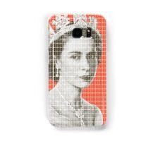 God Save The Queen - Orange Samsung Galaxy Case/Skin