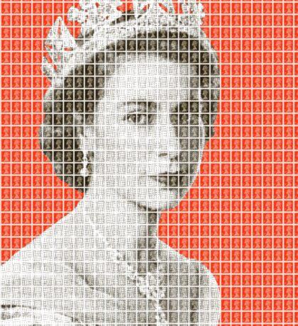 God Save The Queen - Orange Sticker