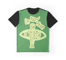 Alien - I'm not from Earth Graphic T-Shirt