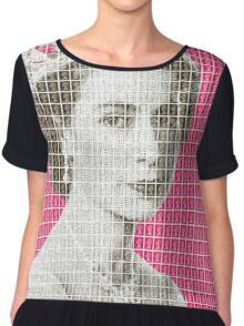 God Save The Queen - Pink Chiffon Top