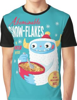 Abominable Snowflakes Graphic T-Shirt