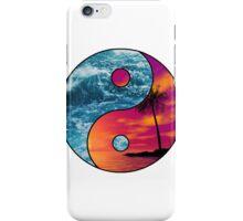 yin yang beach iPhone Case/Skin