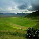 Thunder on the Pian Grande by annalisa bianchetti