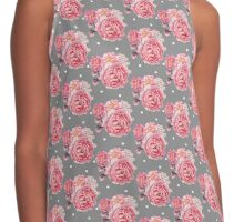 Peony Bloom Collection- Pattern 2 Contrast Tank