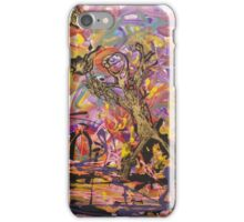 Cosmic volley for the Astronauts moon rock iPhone Case/Skin