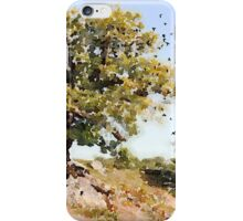 Charnwood Forest Watercolour iPhone Case/Skin