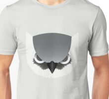 Angry Owl Head Unisex T-Shirt