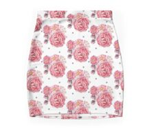 Peony Bloom Collection- Pattern 3 Mini Skirt