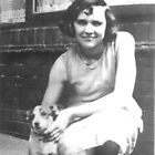 My Mum as a Teenager and Her Dog Spot between the Two World Wars by Dennis Melling
