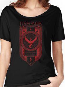 GoT inspired Team Valor banner design Women's Relaxed Fit T-Shirt