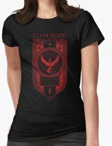 GoT inspired Team Valor banner design Womens Fitted T-Shirt