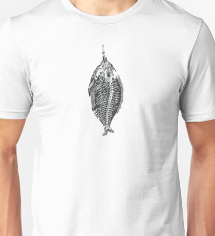 Fish with blood Unisex T-Shirt