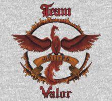 Valor Team Red Pokeball flag emblem One Piece - Long Sleeve