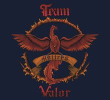 Valor Team Red Pokeball flag emblem One Piece - Short Sleeve