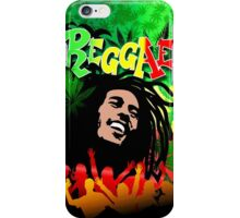 Reggae Rasta Colors Fun and Marijuana iPhone Case/Skin
