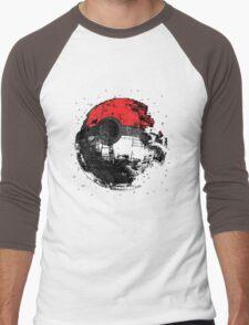 Pokemon Death Star Ultimate ! Men's Baseball ¾ T-Shirt