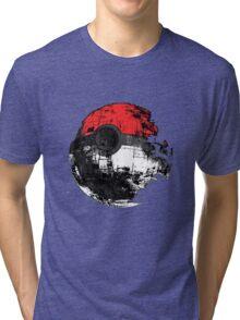 Pokemon Death Star Ultimate ! Tri-blend T-Shirt