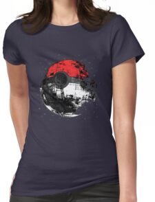 Pokemon Death Star Ultimate ! Womens Fitted T-Shirt