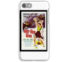 Hot Rod Girl (1956) iPhone Case/Skin